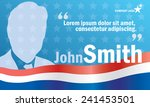 presidential or parliament...   Shutterstock .eps vector #241453501