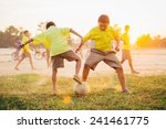 group of the kids  boys  are... | Shutterstock . vector #241461775