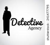 detective agency. vector... | Shutterstock .eps vector #241477795