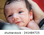 picture of a newborn baby  | Shutterstock . vector #241484725