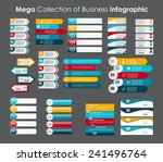 infographic templates for... | Shutterstock .eps vector #241496764