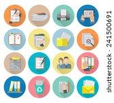 document archive catalog...   Shutterstock .eps vector #241500691