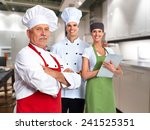 Senior Professional Chef Man...