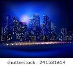 city skyline. vector...   Shutterstock .eps vector #241531654