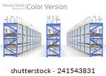 warehouse shelves. vector... | Shutterstock .eps vector #241543831