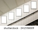blank billboard located in... | Shutterstock . vector #241558009
