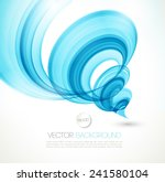 vector abstract twist waves ... | Shutterstock .eps vector #241580104