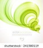 vector abstract twist waves ... | Shutterstock .eps vector #241580119