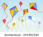 Shiny Kites Flying On Occasion...