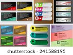 colorful modern text box... | Shutterstock .eps vector #241588195