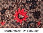 thai fabric texture | Shutterstock . vector #241589809