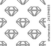 diamond  vector seamless... | Shutterstock .eps vector #241594855