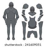Medieval Knight Armor Set....