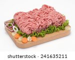 ground veal | Shutterstock . vector #241635211