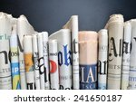 News   Folded Newspapers In...