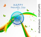 indian republic day... | Shutterstock .eps vector #241691491