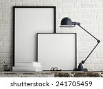 White Poster On Wall