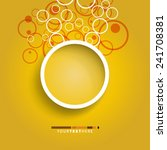 circles design background   Shutterstock .eps vector #241708381