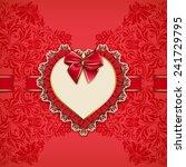 elegant vector template for... | Shutterstock .eps vector #241729795