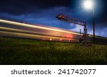 Train In Field