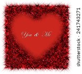 you   me   valentine's day card | Shutterstock .eps vector #241743271