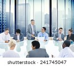 business people conference...   Shutterstock . vector #241745047