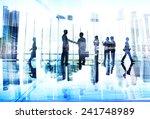 business people handshake... | Shutterstock . vector #241748989