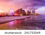 daytona beach  florida  usa... | Shutterstock . vector #241752049