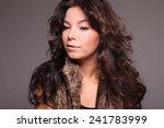 beautiful woman | Shutterstock . vector #241783999