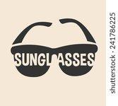 sunglasses icon | Shutterstock .eps vector #241786225