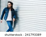 portrait of a young man in...   Shutterstock . vector #241793389