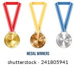 Champion Medal With  Ribbon....