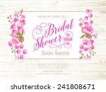 Bridal Shower Invitation With...