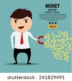 business man cartoon character... | Shutterstock .eps vector #241829491