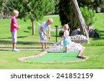 group of happy active children  ... | Shutterstock . vector #241852159