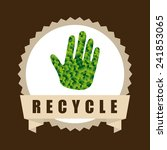 recycle icon | Shutterstock .eps vector #241853065