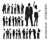 business people | Shutterstock .eps vector #241861804