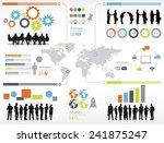 world social networking   Shutterstock .eps vector #241875247