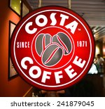 shenzhen   april 17  costa cafe ... | Shutterstock . vector #241879045