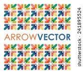 abstract arrow background   Shutterstock .eps vector #241895524