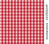 Red  Picnic  Country Pattern.