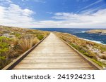 Boardwalk To The Coast In...