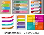 colorful modern text box... | Shutterstock .eps vector #241939261