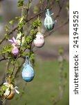 easter tree   Shutterstock . vector #241945525