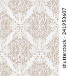 damask seamless floral pattern. ... | Shutterstock .eps vector #241953607