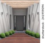 fictitious 3d rendering of a... | Shutterstock . vector #241959094