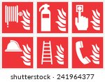 high quality standard fire... | Shutterstock .eps vector #241964377