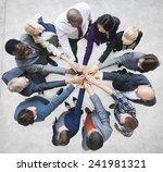 team teamwork togetherness... | Shutterstock . vector #241981321