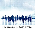 business people aspiration...   Shutterstock . vector #241996744