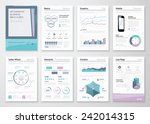 infographic business brochures... | Shutterstock .eps vector #242014315
